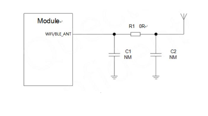 WiFi天线参考电路